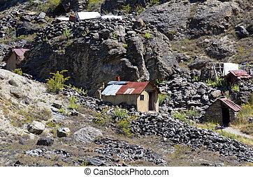 Otago - New Zealand - OTAGO, NZ - JAN 17:Goldfields Mining ...