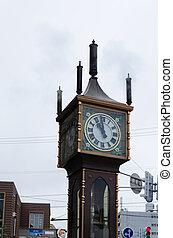 Otaru Steam Clock Tower, Hokkaido