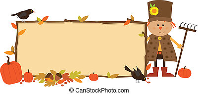 otoño, bandera