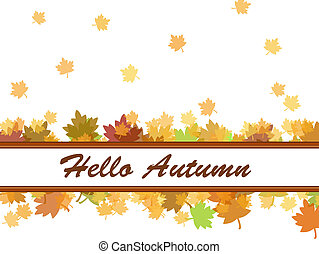 otoño, Caer, hojas, Plano de fondo
