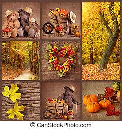 otoño, collage