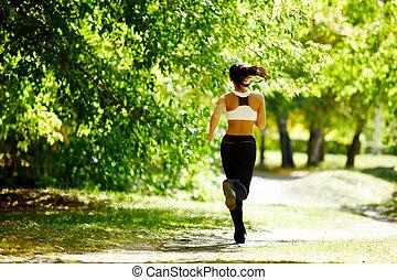 otoño, condición física