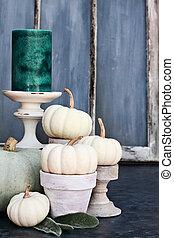 otoño, decoraciones
