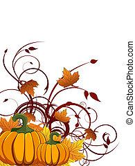 otoño, diseño
