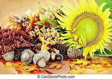 otoño, exhibición
