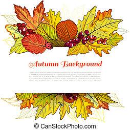 otoño, frontera