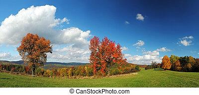 otoño, panorama