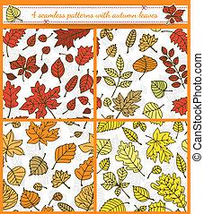 otoño, patrones