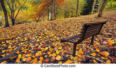 otoño, paz