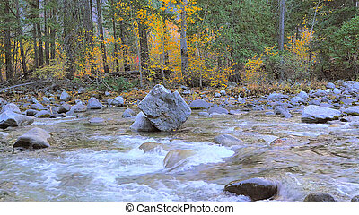 otoño, río