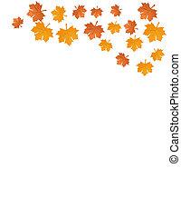 otoño sale, vector, ilustración