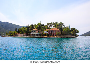 Otok Zivota Island in Adriatic sea near the coast of Croatia