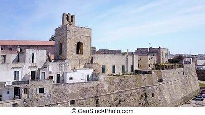 Otranto with Alfonsina Gate, Apulia, Italy - Otranto with...