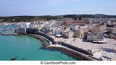 Otranto with Aragonese castle, Apulia, Italy - Otranto with...