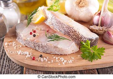 otrzyjcie skórę rybę, składniki