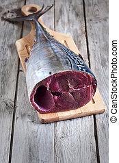 otrzyjcie skórę tuna