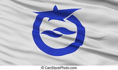 Otsu Capital City Close Up Flag - Otsu Capital City Flag,...