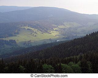 otta, in, mountains
