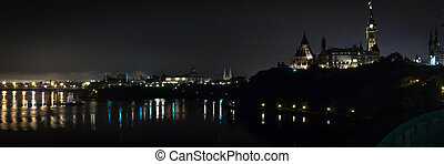 Ottawa Night Panorama