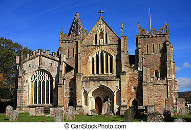 Ottery St Mary Parish Church - Modelled on Exeter Cathedral ...
