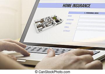 otthon, homeinsurance, kiszámít