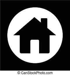 otthon, ikon