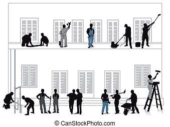 otthon, kézművesek, javítás