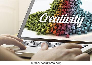 otthon, kreativitás, kiszámít