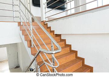 otthon, lépcsősor
