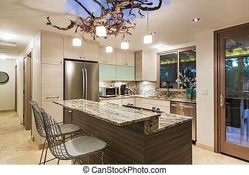 otthon, modern, konyha