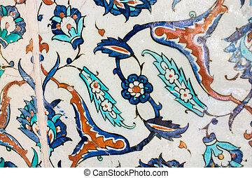 Ottoman ancient Handmade Turkish Tiles