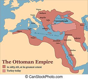 Ottoman Empire Turkey - The Ottoman Empire at its greatest...
