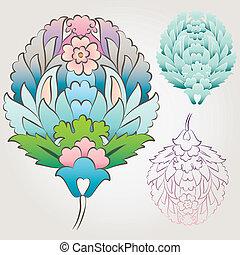 Ottoman Floral Motif