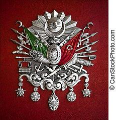 ottoman kejsardöme, vapensköld