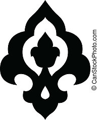 ottoman, motif, iznik