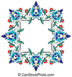 Ottoman motifs design series sevent - Versions of Ottoman...
