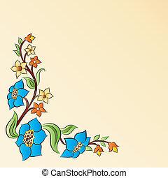 Ottoman motifs design series with f