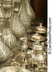 ottomano, insieme tè