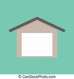 otturatore, porta garage, rullo