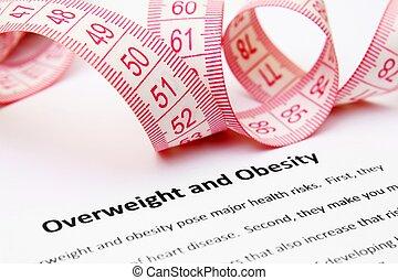 otyłość, przeważać