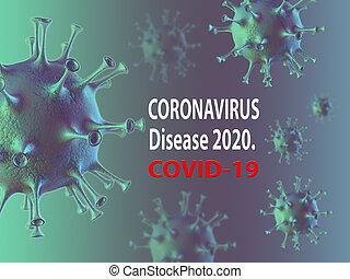 ou, 2019-ncov, sars-cov-2, concept, coronavirus