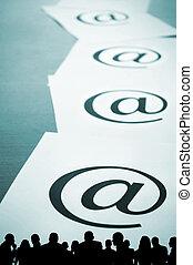 ou, e-affaires, spam