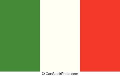 ou, gráficos, ilustração, itália, italiano, vetorial, desenho, bandeira
