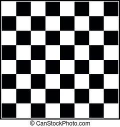 ou, planche, white., chess., illustration, sport, jeu, échecs, loisir, noir, gameboard, vecteur