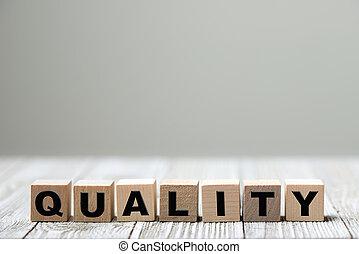 ou, produit, qualité, service, conceptuel