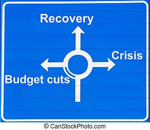 ou, recuperação, crise