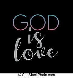 ou, super, poder, natureza, love-, deus, sobre, worshiped, ...
