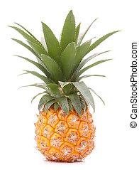 ou, tropicais, ananas, fruta, abacaxi