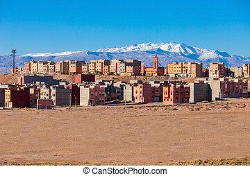 ouarzazate, ville, maroc