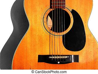 oud, akoestische guitar